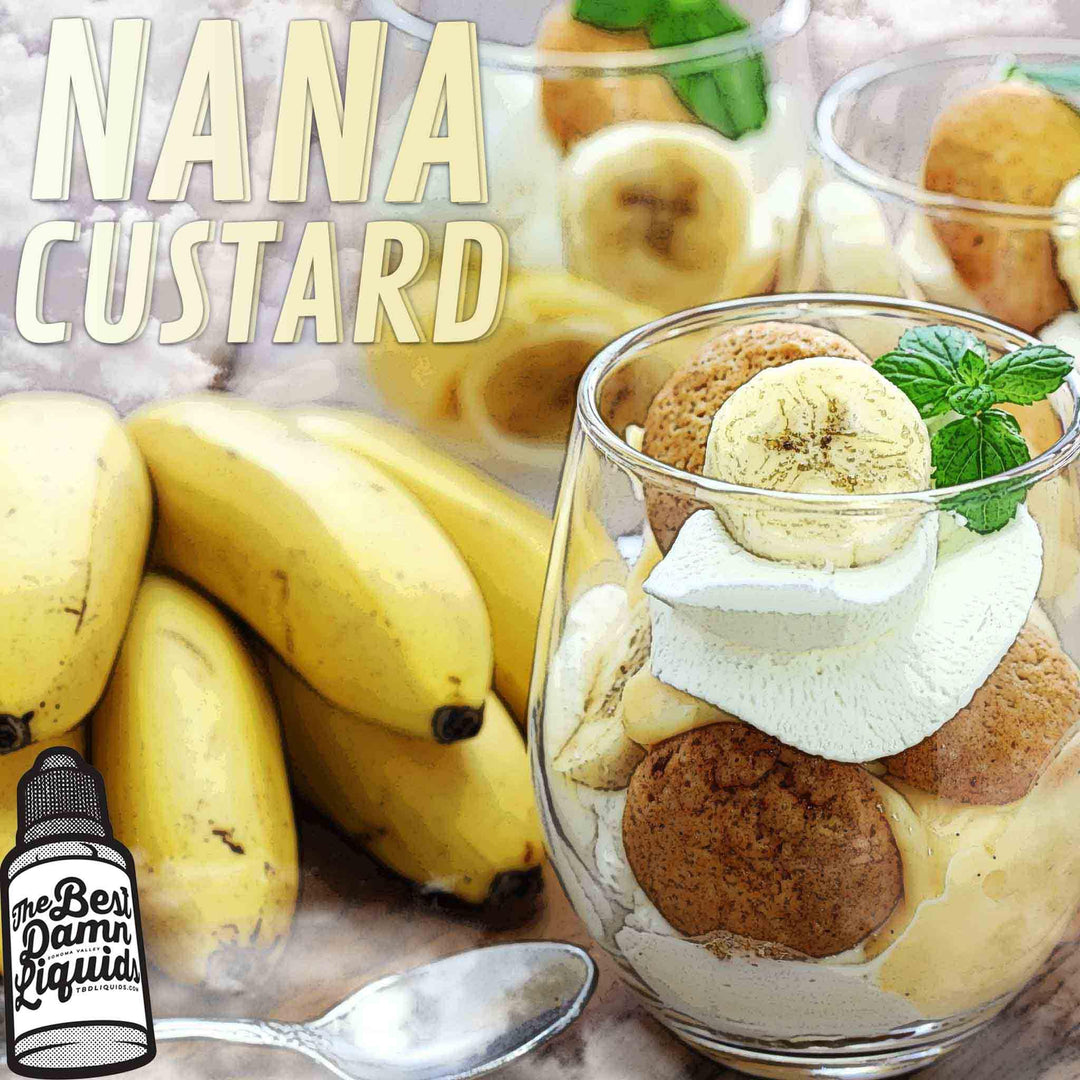 nana custard by the best damn liquids 30ml