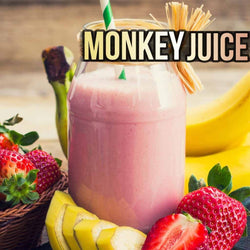 new strawberry banana e-juice - best vape juice 2019 monkey juice e-liquid