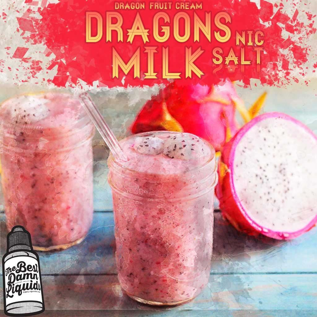 best nic salts flavor dragons milk - a new dragon fruit cream salt nic juice flavor