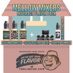 mellow mixers soda beverage nic salt flavor pack deal