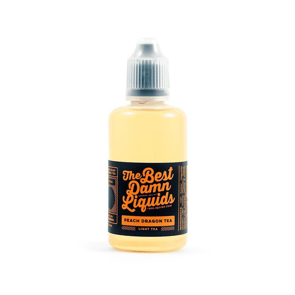 peach dragon tea tbd liquids 30ml bottle