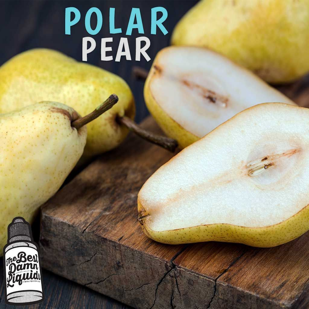 polar pear e-juice flavor tbd liquids menthol 30ml bottle