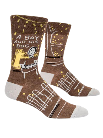 A Boy And His Dog - Men's Socks