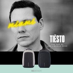 DJ Tiesto Chooses Quirksy's Bobby Anti-theft Backpack