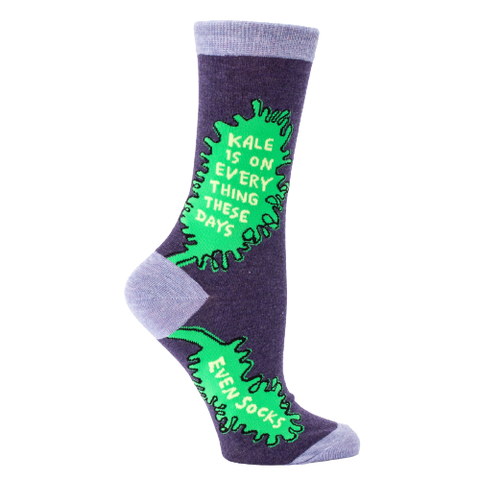 Kale is on everything these days - Women's socks