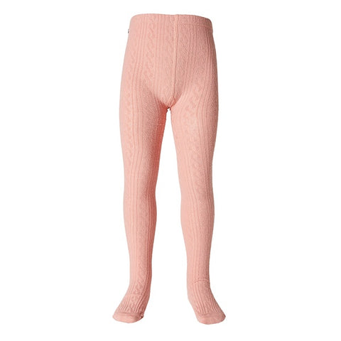MILKY | Jaquard Tights Peony Pink