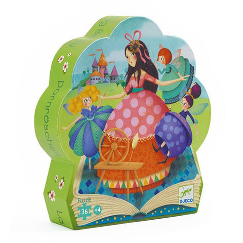 Sleeping Beauty - 36pc Silhouette Puzzle