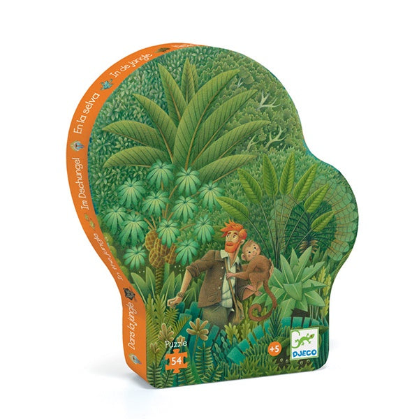 DJECO | The Jungle - 54pc Silhouette Puzzle
