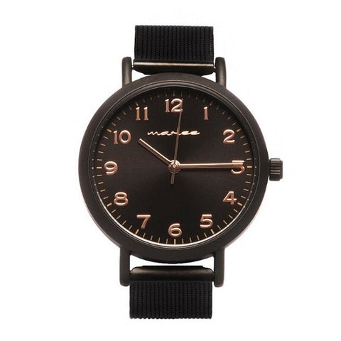 Marlee Watch Co Mesh Black