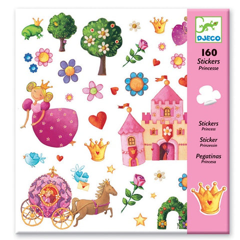 DJECO | Princess Stickers