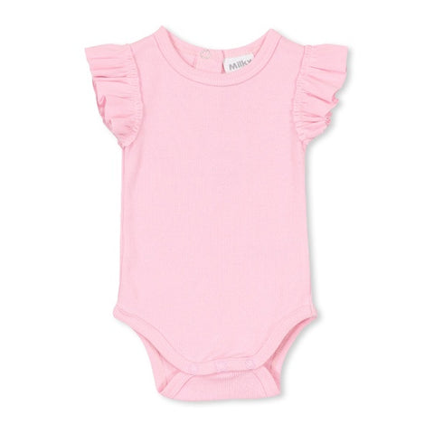 MILKY | Basic Bubbysuit Candy Pink