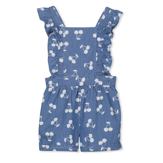 MILKY | Denim Cherry Playsuit