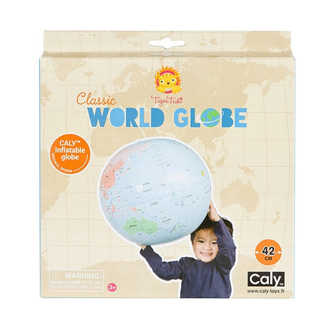 TIGER TRIBE | Classic World Globe
