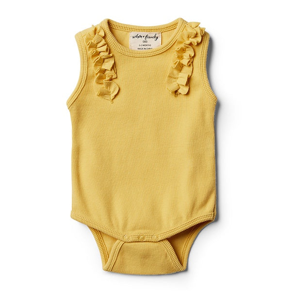WILSON + FRENCHY | Jojoba Bodysuit With Ruffle