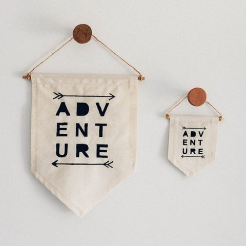 Made By Me and Co Adventure Fabric Banner