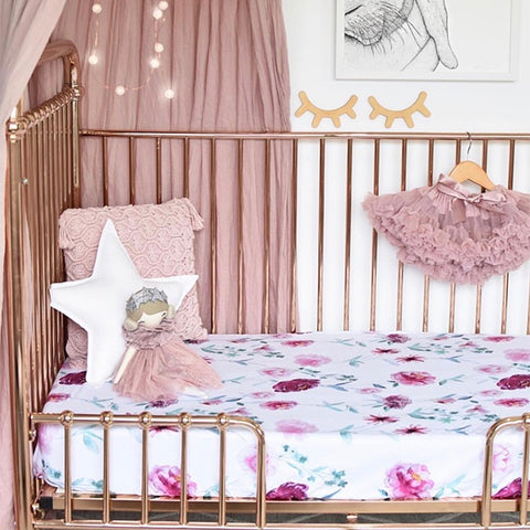 SNUGGLE HUNNY KIDS | Wanderlust Fitted Cot Sheet