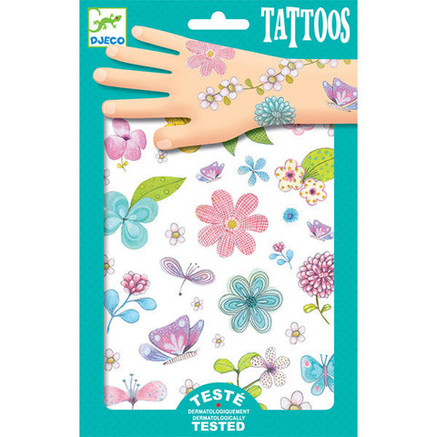 DJECO | Fair Flowers of the Field Tattoos