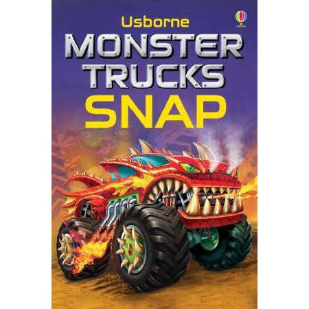 Monster Trucks Snap Cards