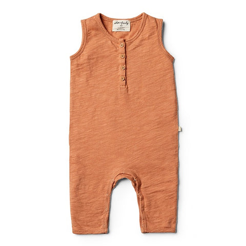 WILSON + FRENCHY | Toasted Nut Growsuit