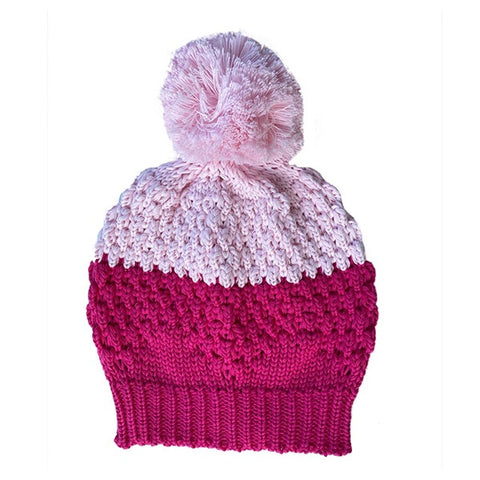 BELLA + LACE | Beanie Electric Pink