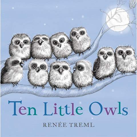 Ten Little Owls B/B