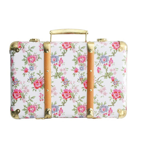ALIMROSE | Vintage Style Carry Case - Cottage Rose