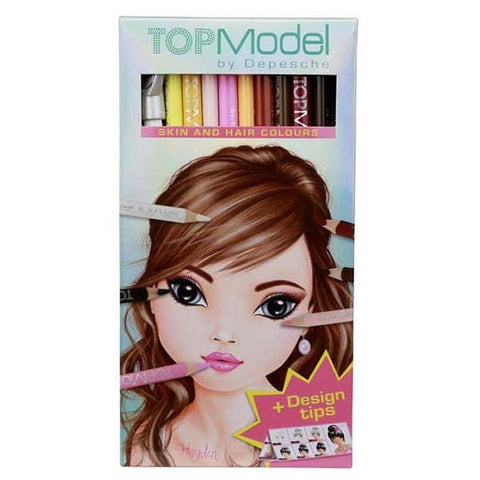 Top Model Natural Pencil Set