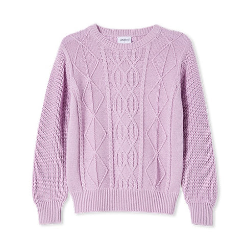 MILKY | Cable Knit Jumper