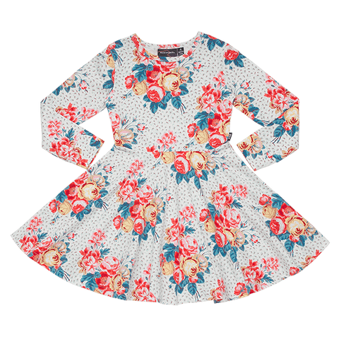**PRE SALE** ROCK YOUR BABY | Antique Chintz Waisted Dress