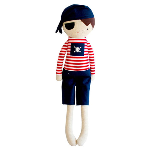 Alimrose Linen Pirate Boy - Navy