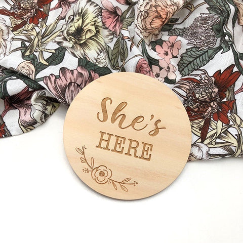 ONE.CHEW.THREE | She's Here - Floral