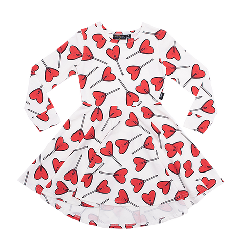 **PRE SALE** ROCK YOUR BABY | Little Sweetie Waisted Dress