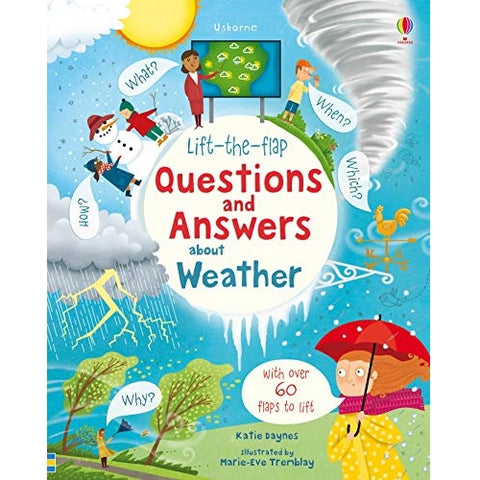 Lift-The-Flap Questions And Answers About Weather B/B