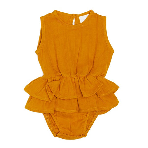 ALEX & ANT | Mischa Playsuit Mustard