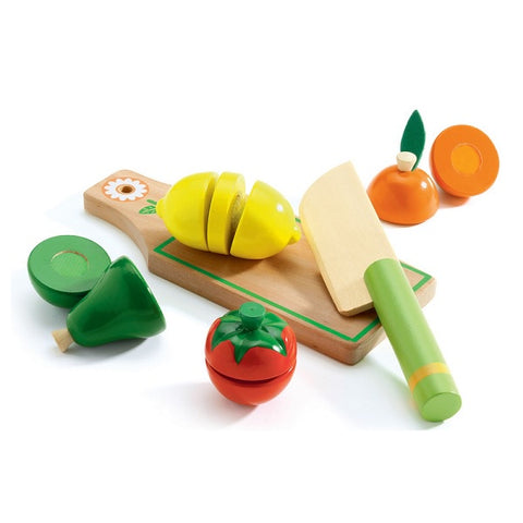 DJECO | Fruit & Vegies To Cut Role Play Set