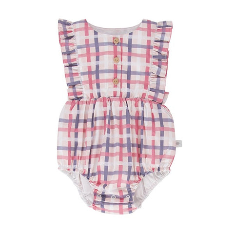 PEGGY | August Playsuit Vintage Check