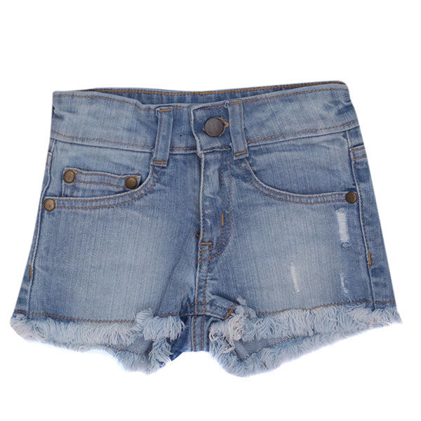 Bella + Lace Denim Shorts