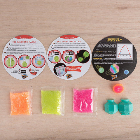 HEEBIE JEEBIES | Petri Kit: DIY Bouncy Balls