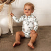 SNUGGLE HUNNY KIDS | Eucalypt Long Sleeve Bodysuit