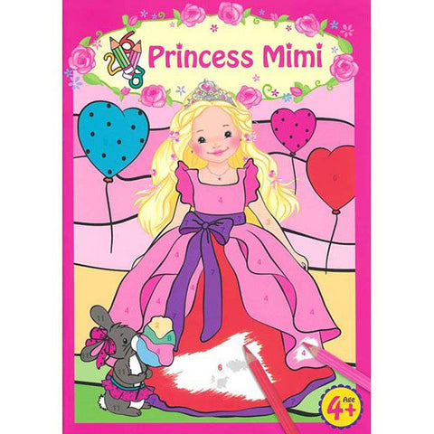 My Style Princess Princess Mimi's Colour To Number Book