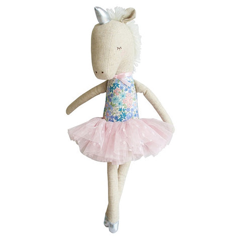 ALIMROSE | Yvette Unicorn Doll - Liberty Blue