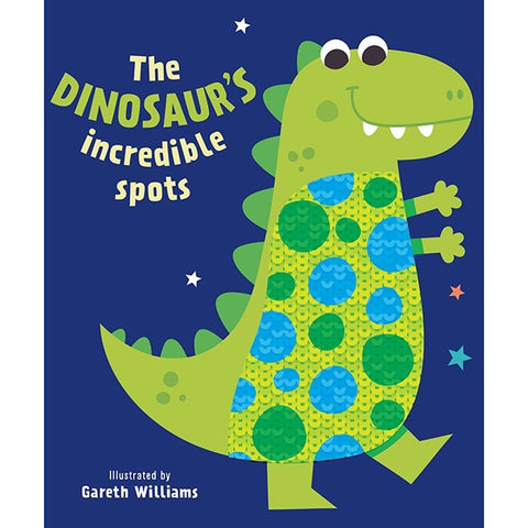 The Dinosaur's Incredible Spots Sequins Book B/B