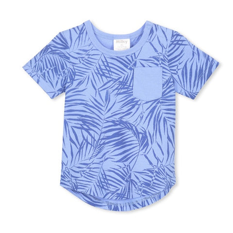 MILKY | Blue Palms Tee