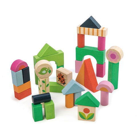 TENDER LEAF TOYS | Courtyard Blocks In A Bag