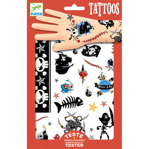 DJECO | Pirates Tattoos
