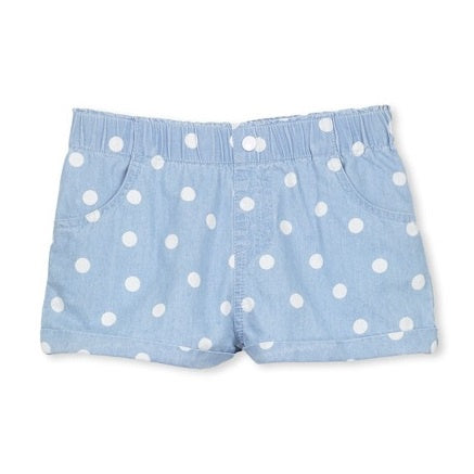 MILKY | Chambray Spot Short