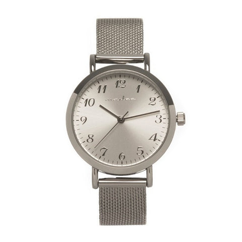 Marlee Watch Co Mesh Silver