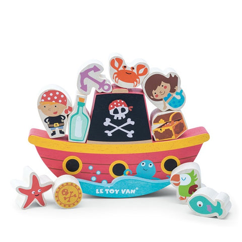 LE TOY VAN | Pirate Balance Rock N Stack