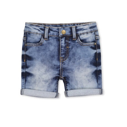 MILKY | Knit Denim Short