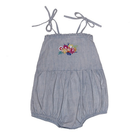 ALEX & ANT | Sasha LOVE Playsuit Chambray